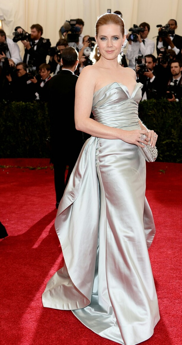 Amy Adams in Oscar de la Renta