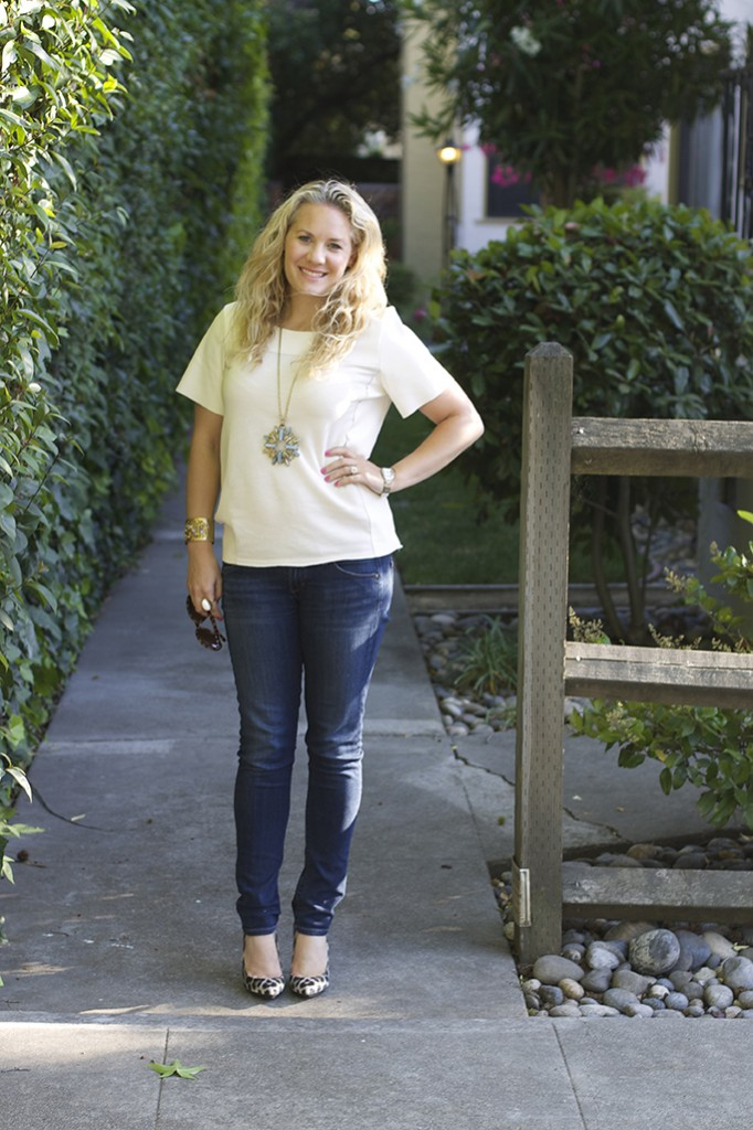 Basic Tee and Skinny Jeans 4