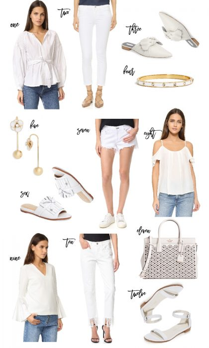 Outfit Inspiration: All White Outfit
