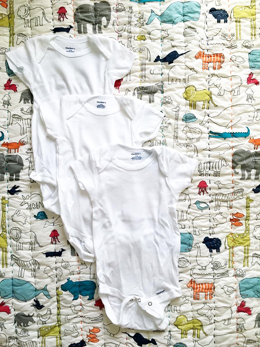 baby-essentials-gerber-baby-onesies