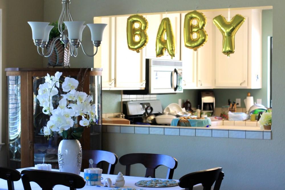 Baby Shower-Baby Shower Balloons-Baby Balloons-Gold Foil Balloons