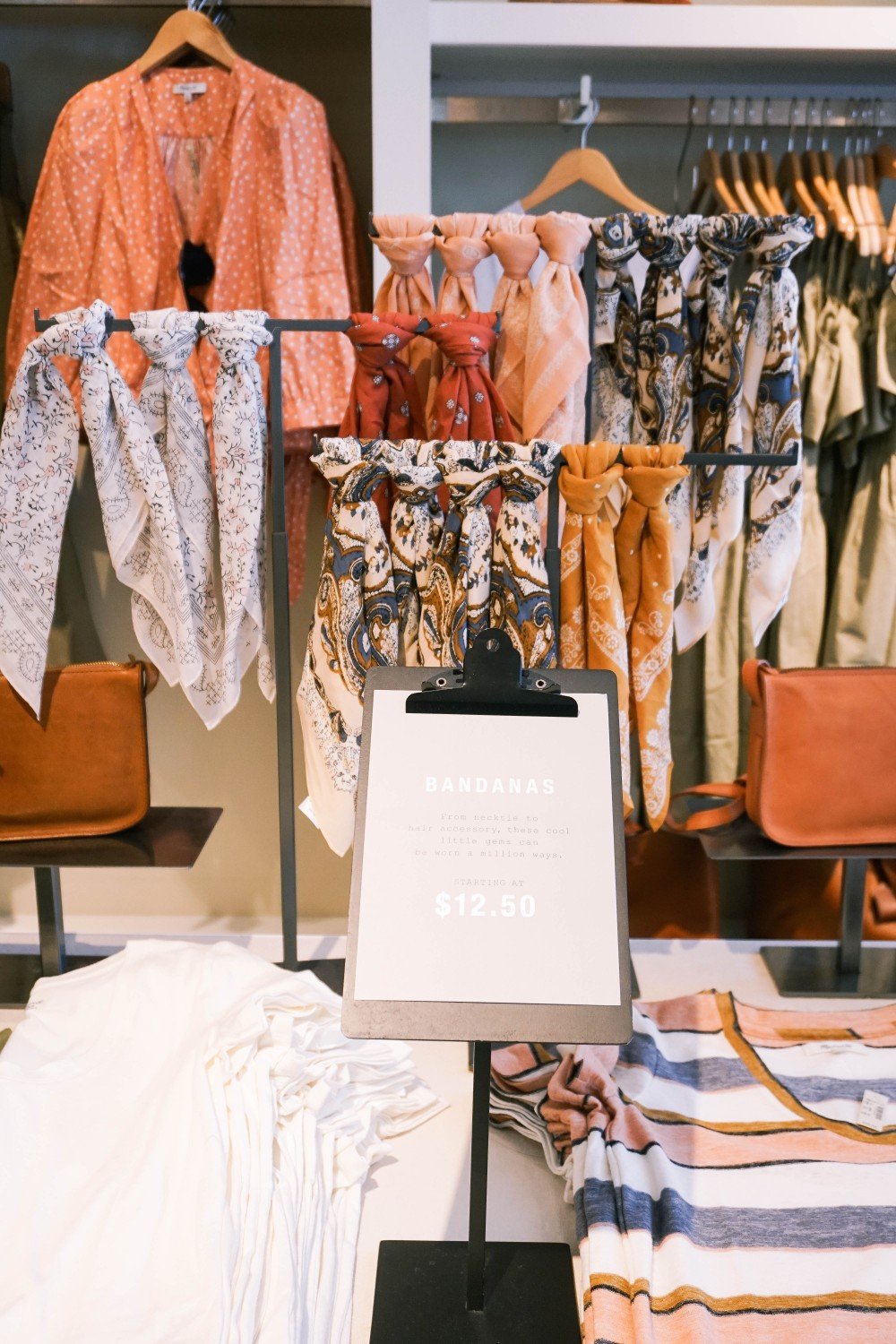 Back to School-Madewell-Fall Transition Accessories-Bandanas