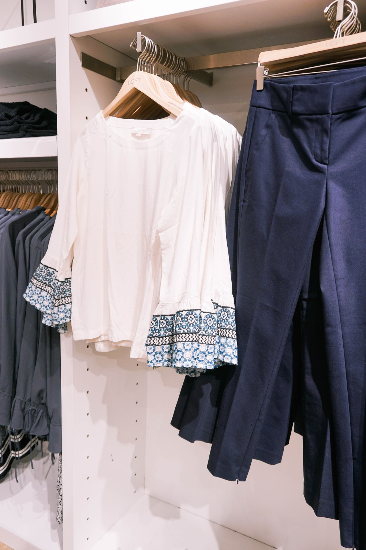 Back to School Shopping-Ann Taylor LOFT-Bell Sleeve Top