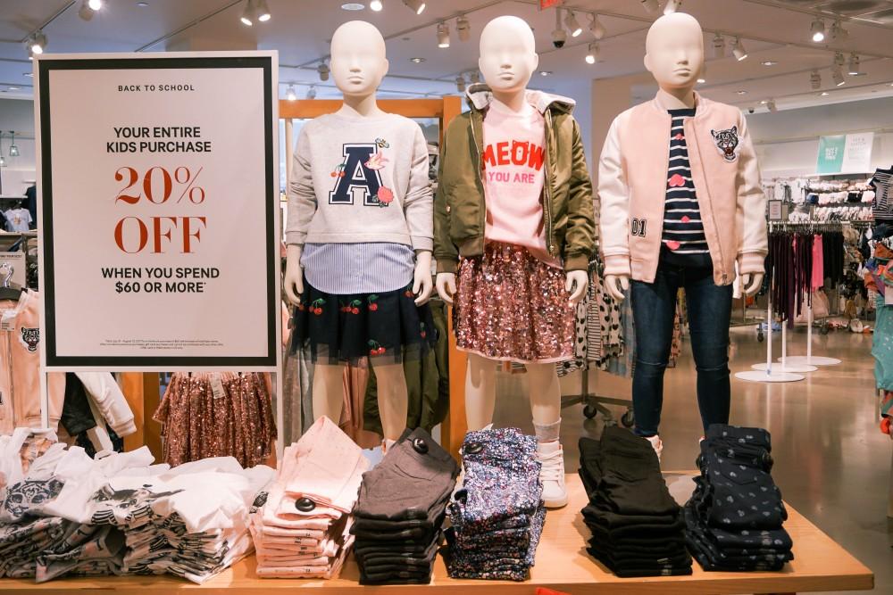 Back to School Shopping-H&M-Kids Clothing