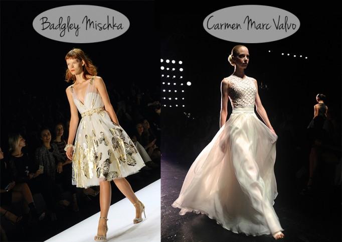 Badgley-Mischka-Carmen-Marc-Valvo-NYFW-SS14-Runway-Fashion-Week