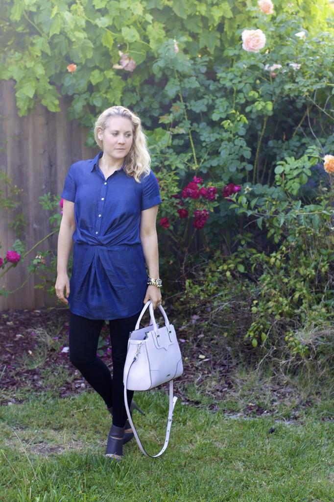 Bailey 44 Michael Kors Sole Society Banana Republic Fashion Blogger Spring Style 2