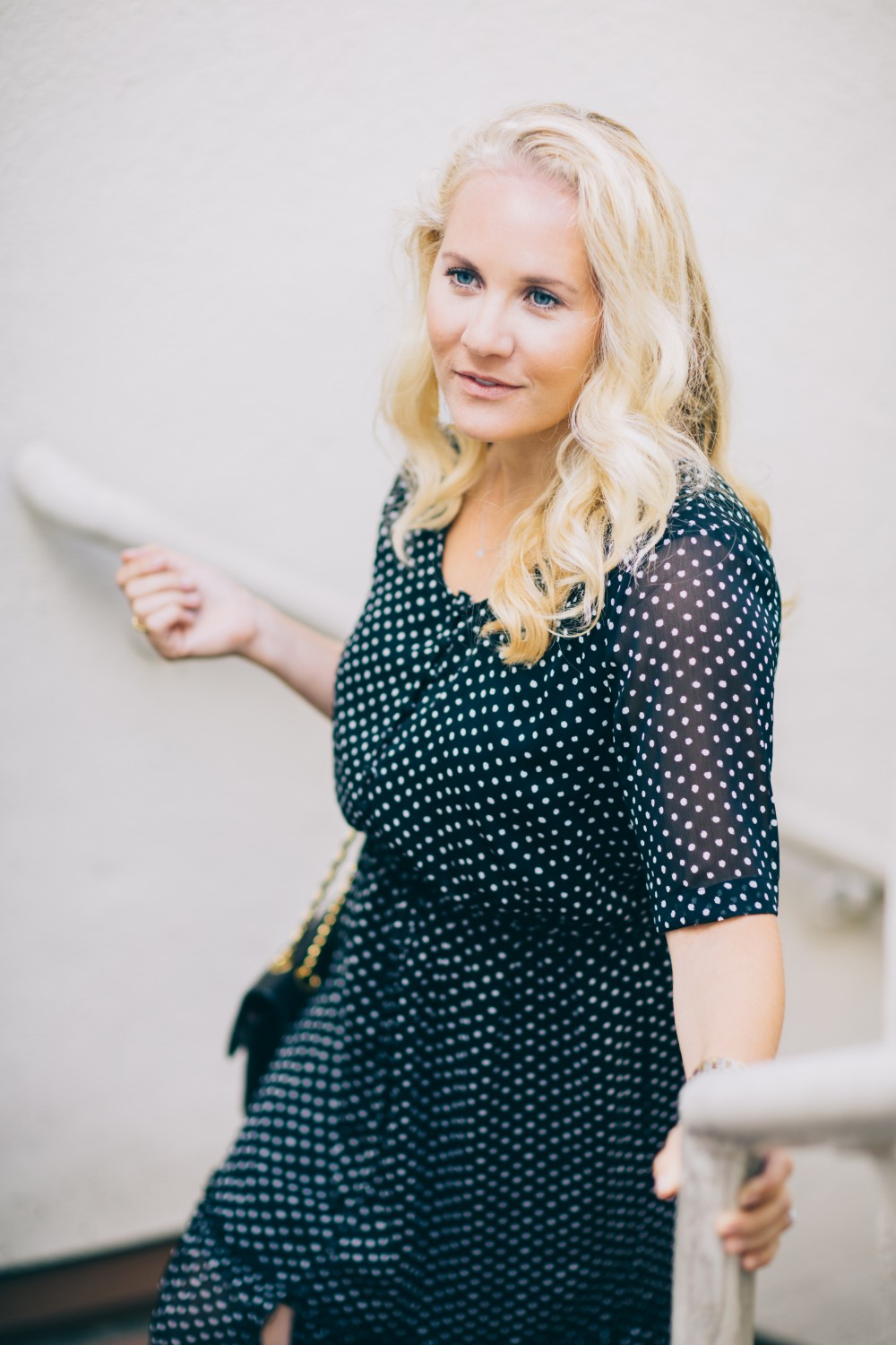 Black and White Polka Dot Maxi Dress-Who What Wear for Target-Target Maxi Dress-Polka Dot Dress-Outfit Inspiration-Bay Area Fashion Blogger-Have Need Want 6