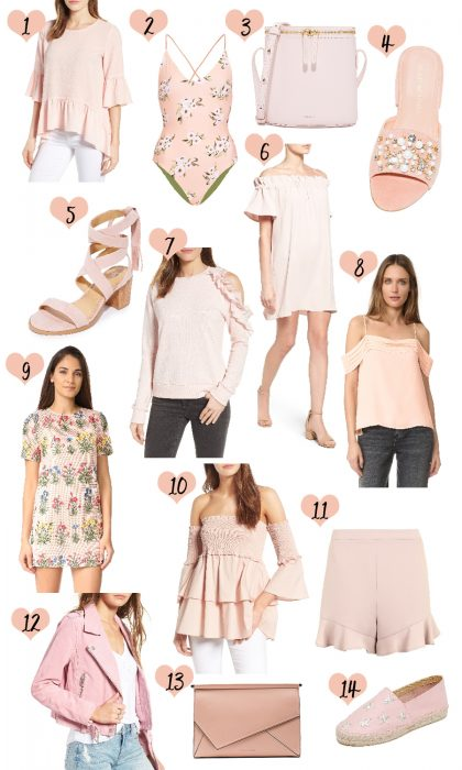 Blush Pink Clothes for Spring