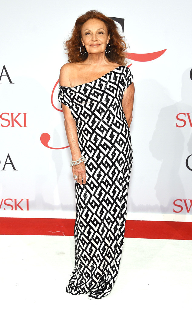 NEW YORK, NY - JUNE 01:  Designer Diane von Furstenberg attends the 2015 CFDA Fashion Awards  at Alice Tully Hall at Lincoln Center on June 1, 2015 in New York City.  (Photo by Dimitrios Kambouris/Getty Images)