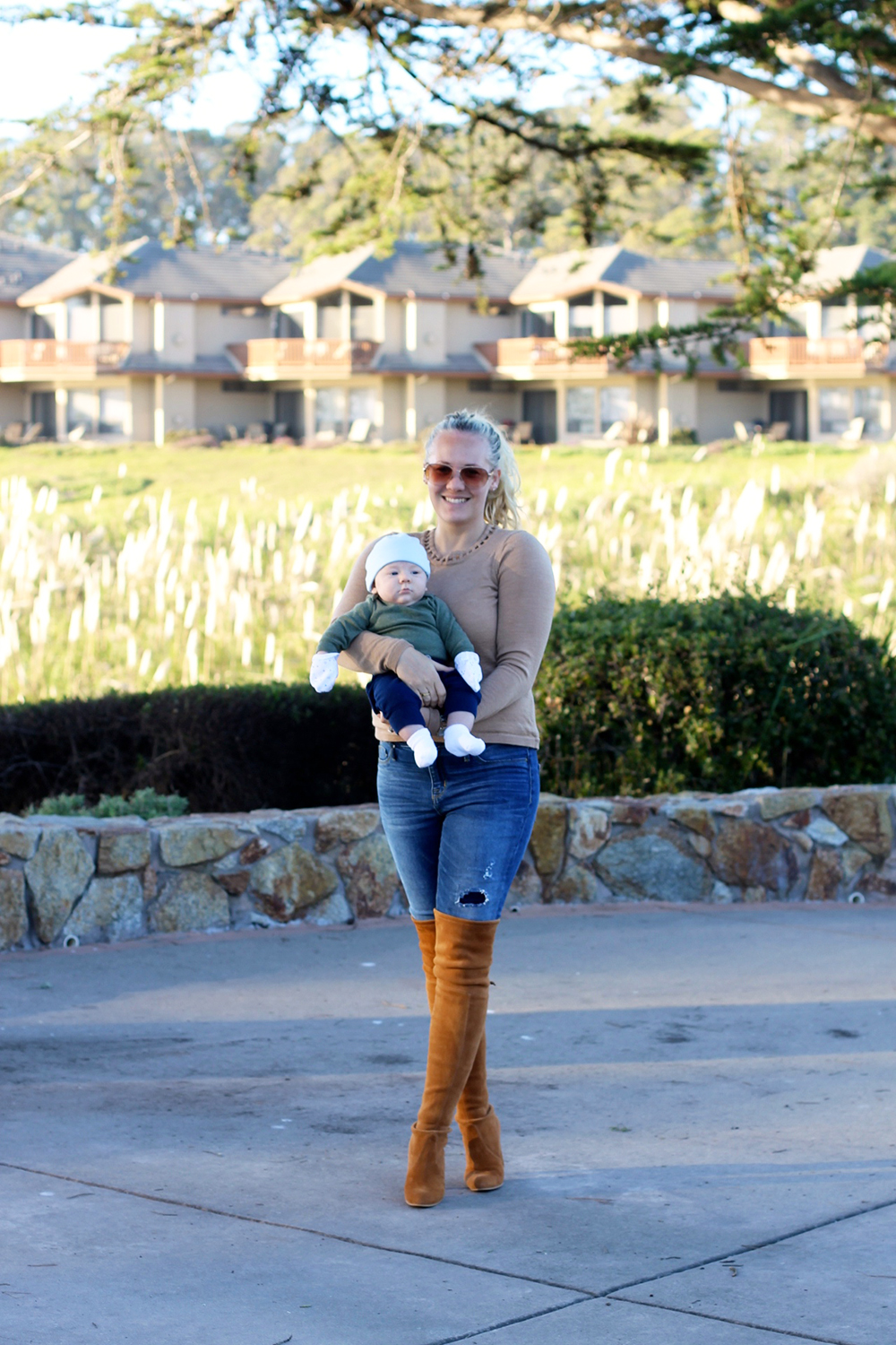 Camel Cut-Out Sweater-Outfit Inspiration-Mom Style-Have Need Want 2