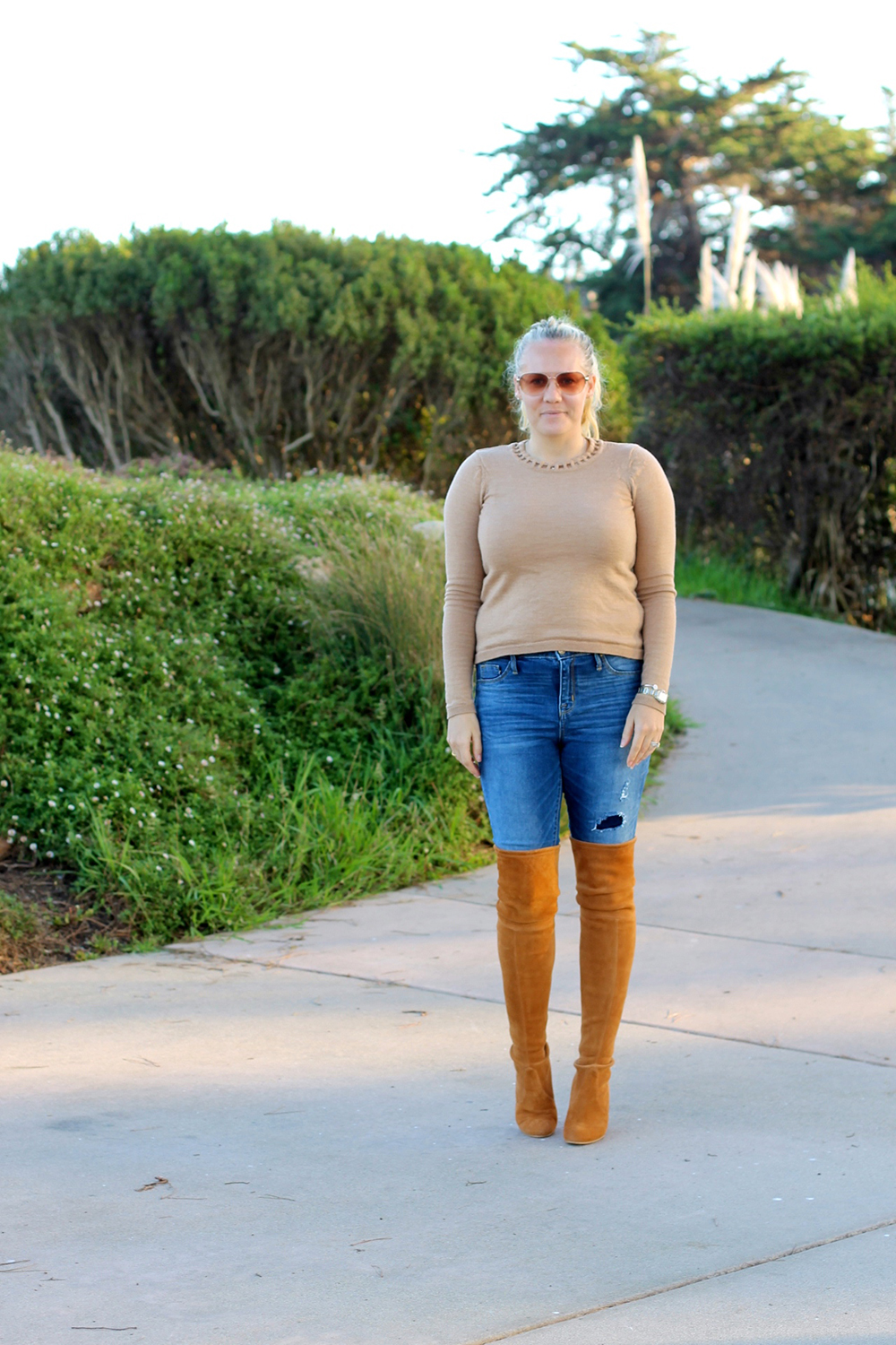 Camel Cut-Out Sweater-Outfit Inspiration-Mom Style-Have Need Want 3