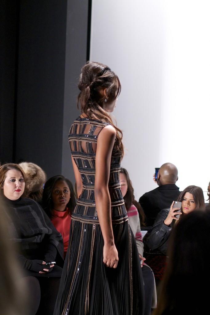 MBFW, FW 15, Fashion Week, Carmen Marc Valvo, On the Runway