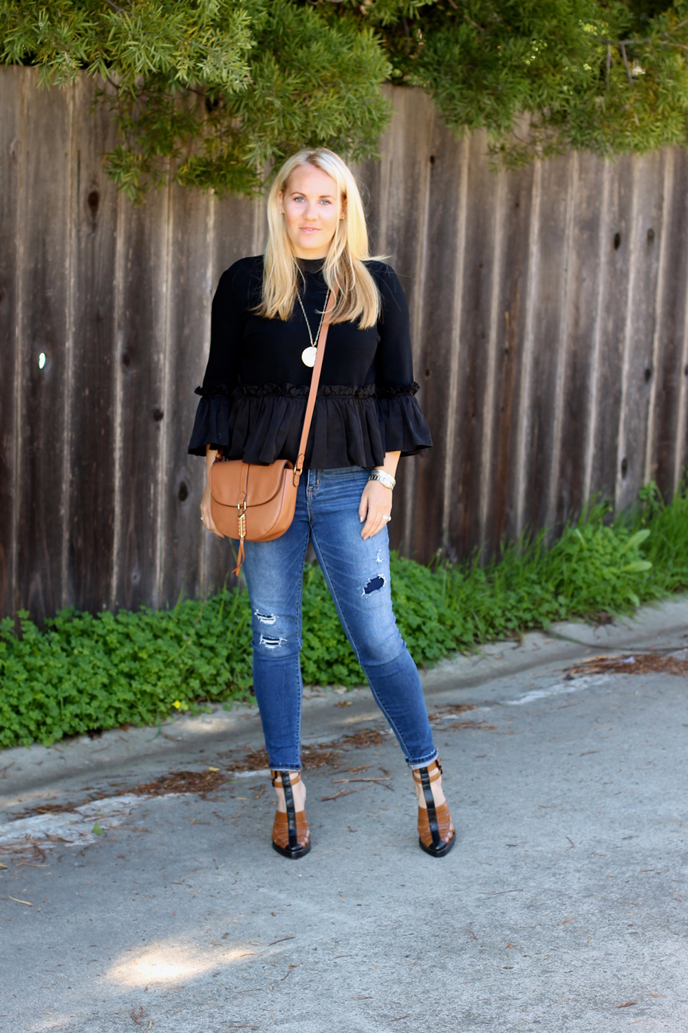 Cinq a Sept Flounced Ruffle Top-Outfit Inspiration-Date Night Outfit-Covet by Stella & Dot-Have Need Want 2