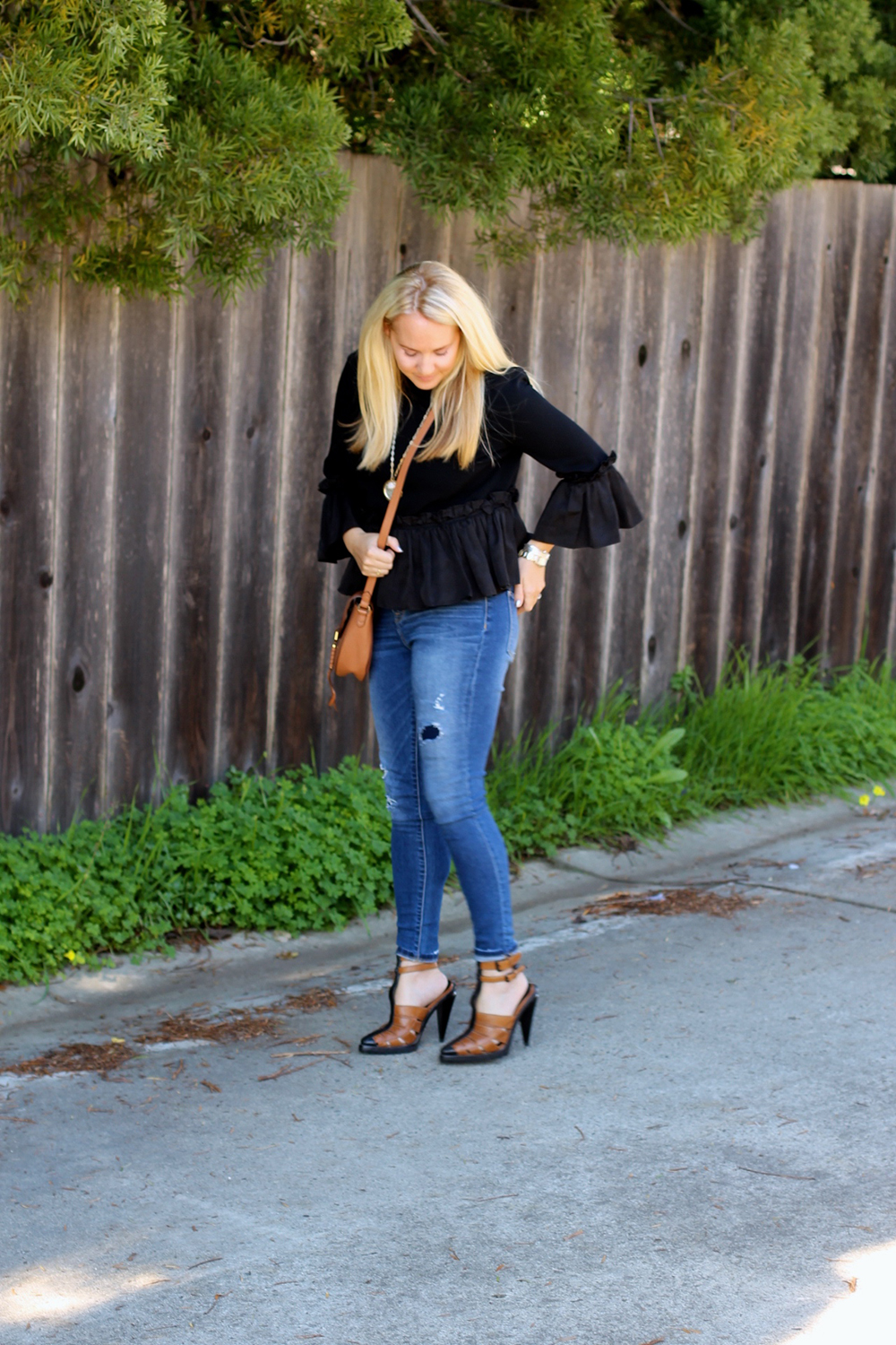 Cinq a Sept Flounced Ruffle Top-Outfit Inspiration-Date Night Outfit-Covet by Stella & Dot-Have Need Want 7