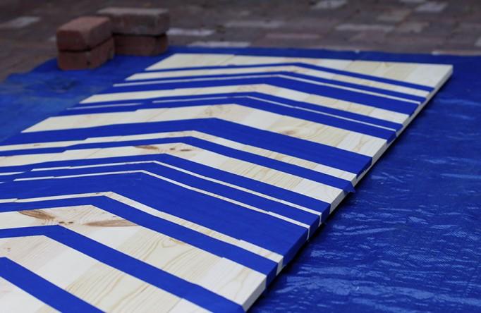 DIY Full Length Mirror Paint Project Valspar Paint Ace Hardware Clark+Kensington Paint Pint Color Samples 2