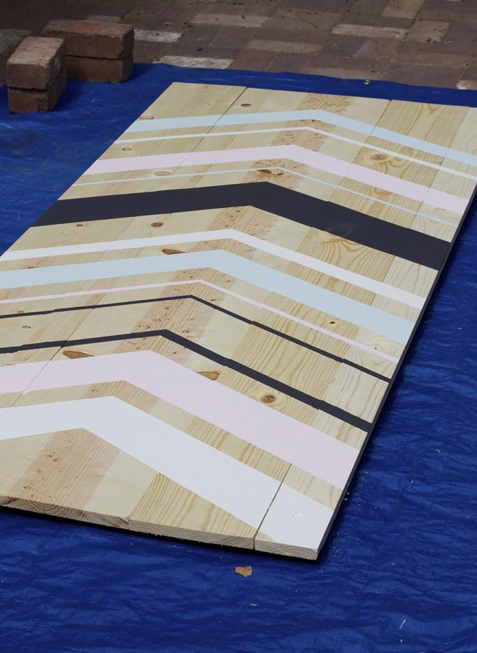 DIY Full Length Mirror Paint Project Valspar Paint Ace Hardware Clark+Kensington Paint Pint Color Samples 6