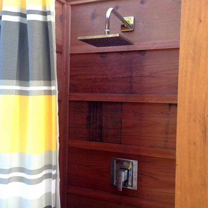 DIY Outdoor Shower What to consider when building an outdoor shower 10