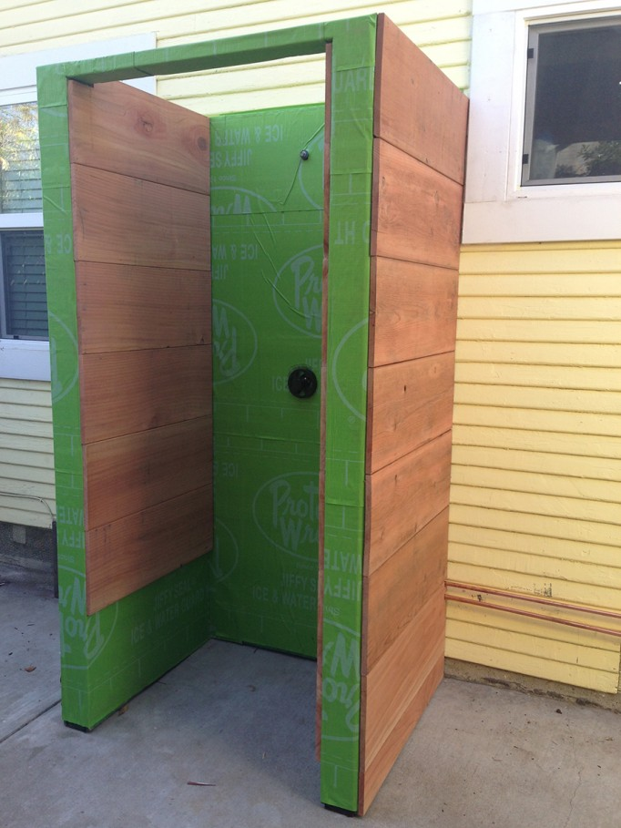 DIY Outdoor Shower What to consider when building an outdoor shower 3