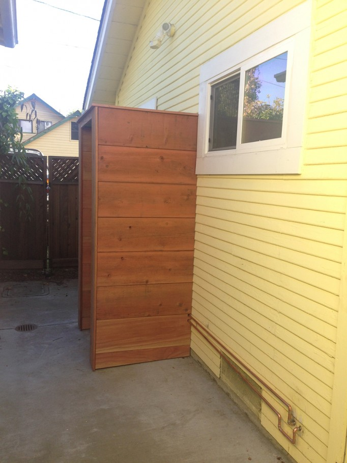 DIY Outdoor Shower What to consider when building an outdoor shower 4