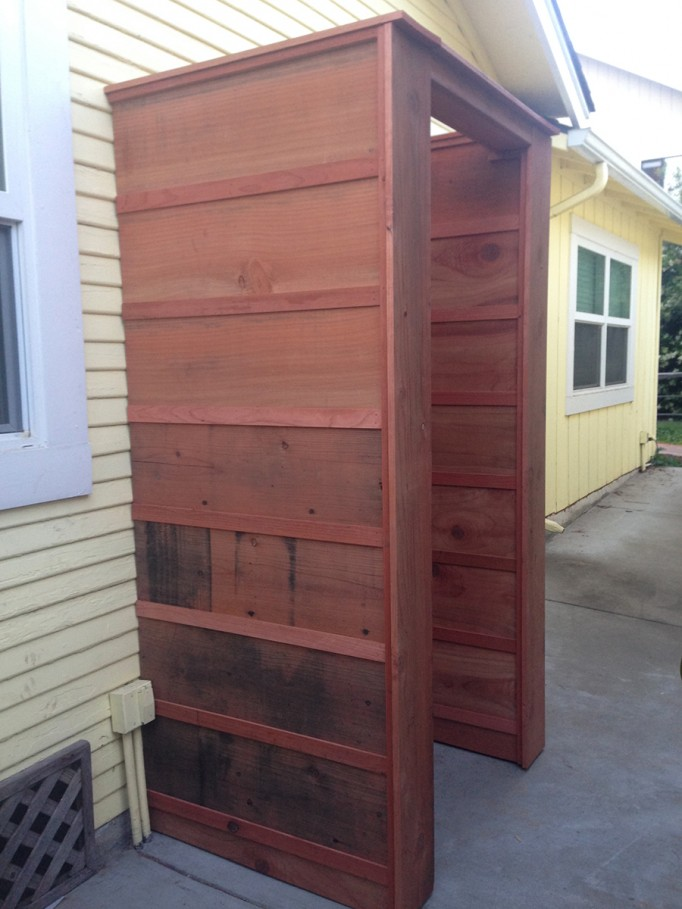 DIY Outdoor Shower What to consider when building an outdoor shower 5