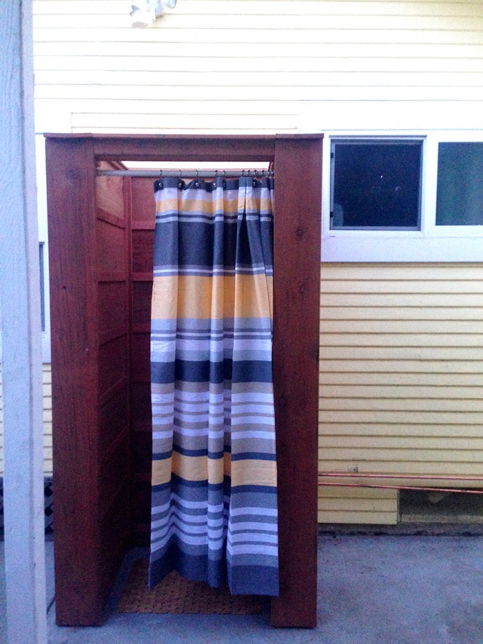 DIY Outdoor Shower What to consider when building an outdoor shower 8