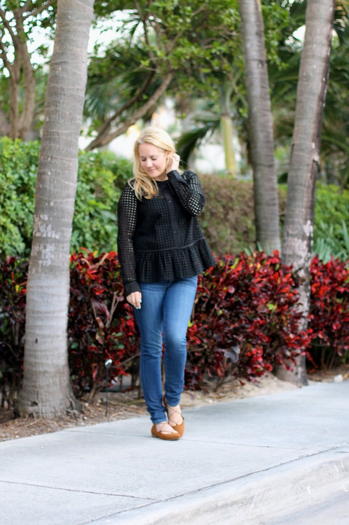 Defy & Inspire-Target Style Beauty-Paradise Island-Who What Wear for Target-Fashion Blogger-Bay Area Fashion Blogger-Lace up Flats 4