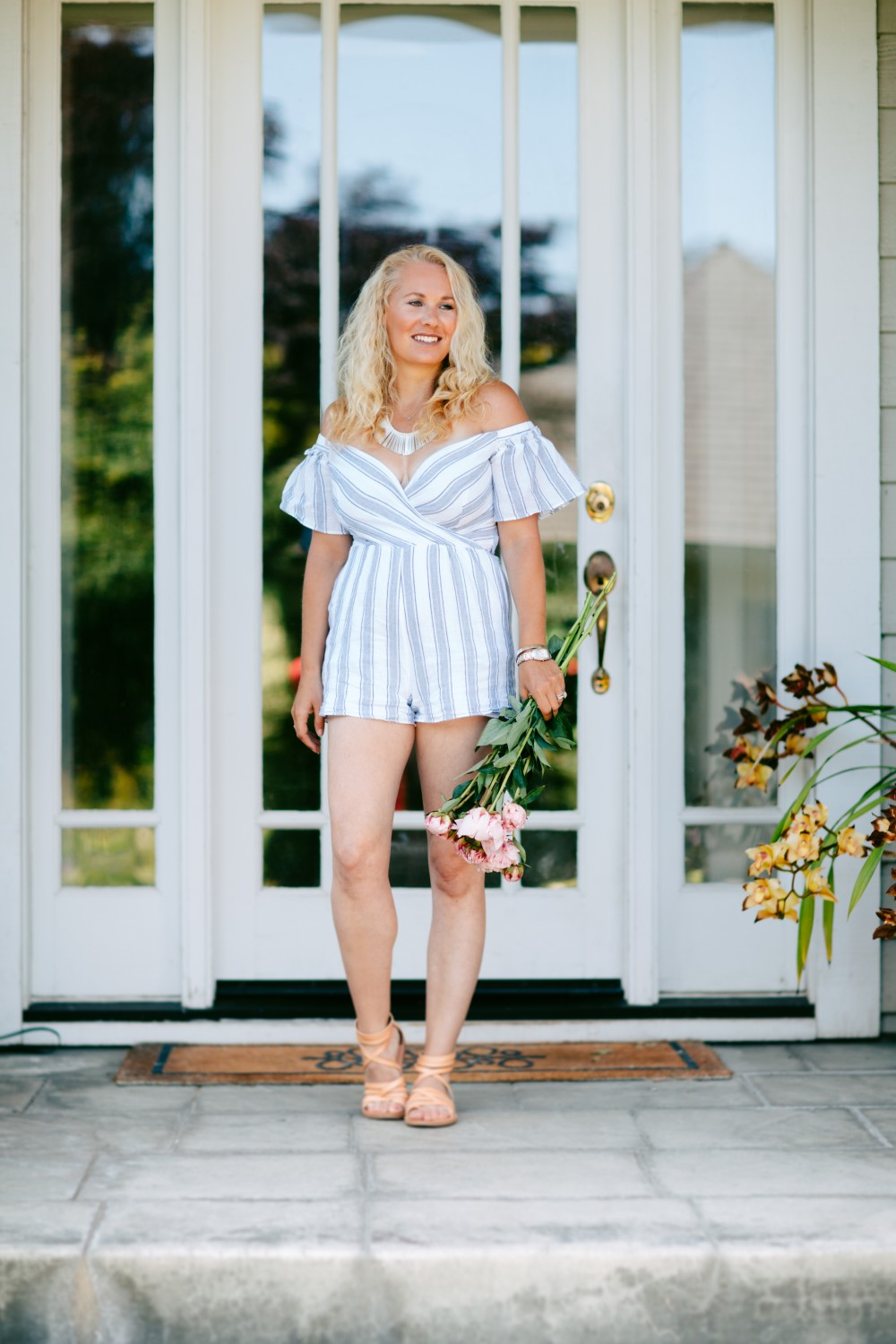Effortless Stripe Romper-Have Need want-Outfit Inspiration-Summer Style-Saylor Stripe Romper 5