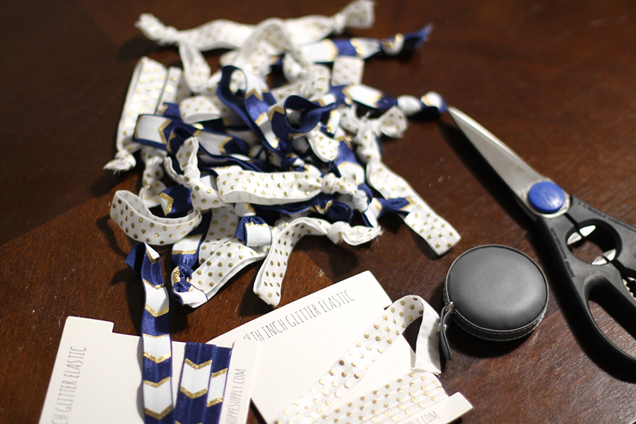 Elastic Hair Ties-DIY Project-Baby Shower Gift Idea 2