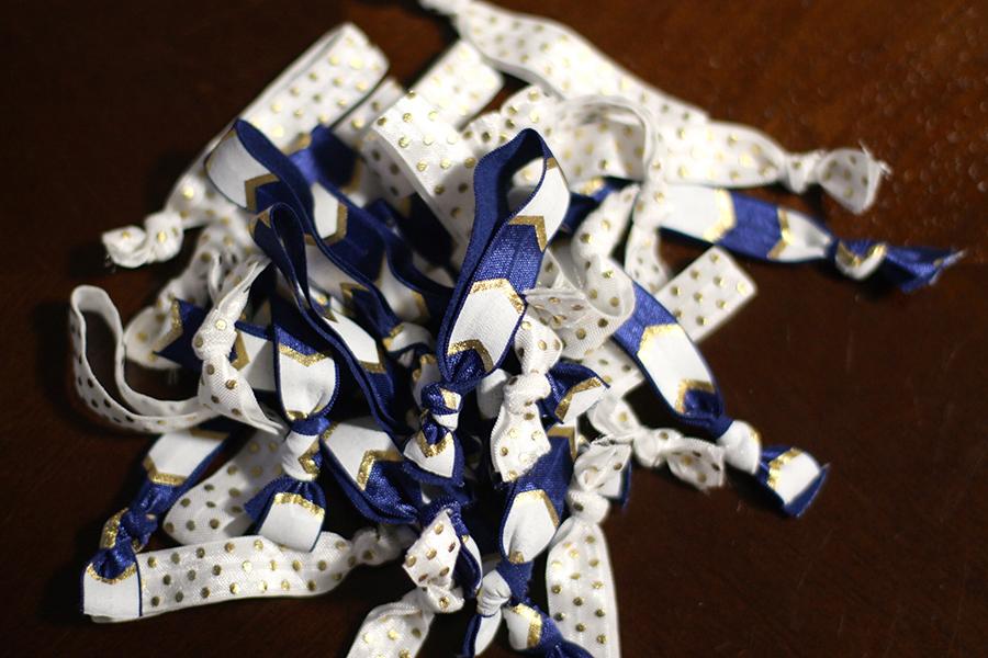 Elastic Hair Ties-DIY Project-Baby Shower Gift Idea 4