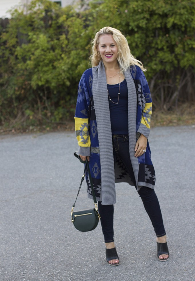 Fall Fashion Inspiration, Blanket Sweater, Rent the Runway Unlimited, Target Style, Fashion Blogger, Aztec Blanket Sweater 2