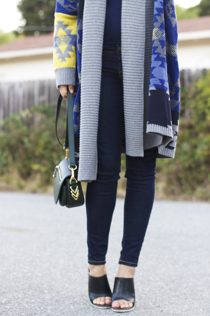 Fall Fashion Inspiration, Blanket Sweater, Rent the Runway Unlimited, Target Style, Fashion Blogger, Aztec Blanket Sweater 7