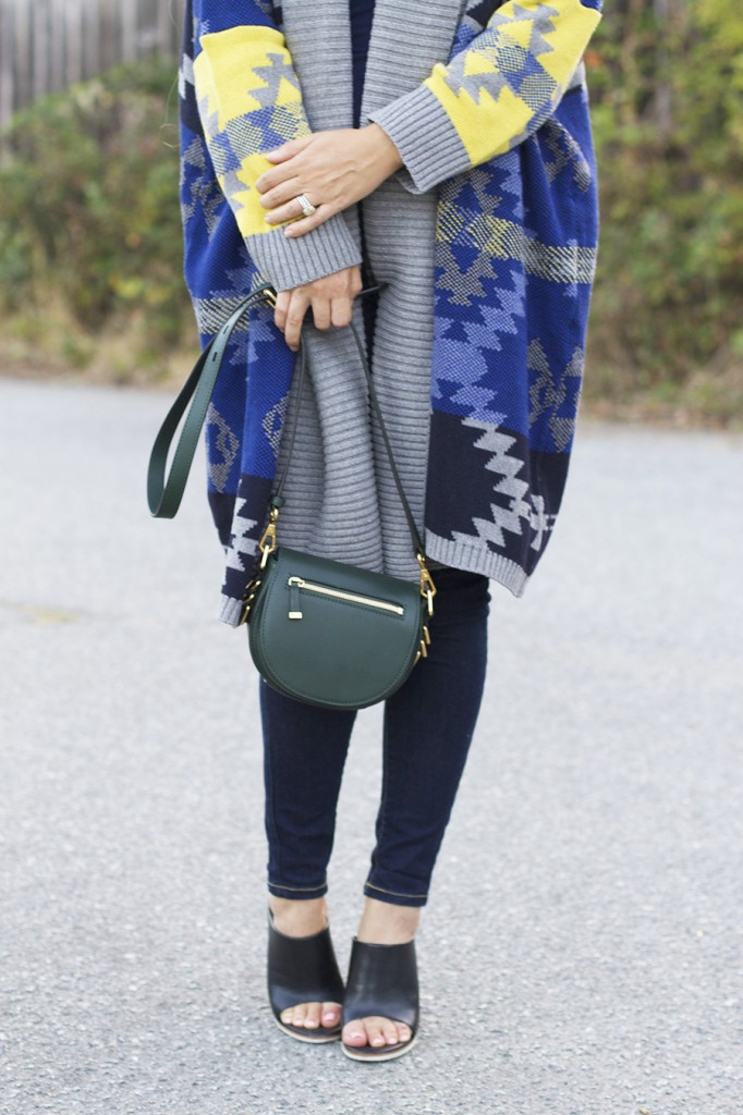 Fall Fashion Inspiration, Blanket Sweater, Rent the Runway Unlimited, Target Style, Fashion Blogger, Aztec Blanket Sweater 9