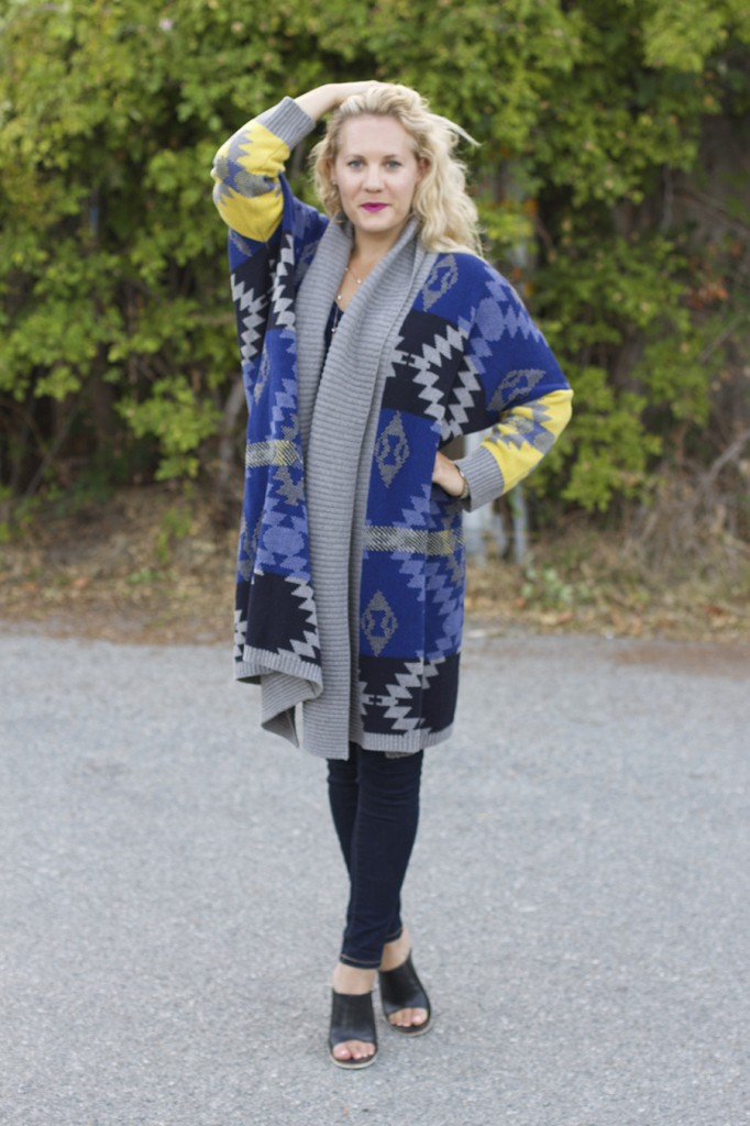 Fall Fashion Inspiration, Blanket Sweater, Rent the Runway Unlimited, Target Style, Fashion Blogger, Aztec Blanket Sweater