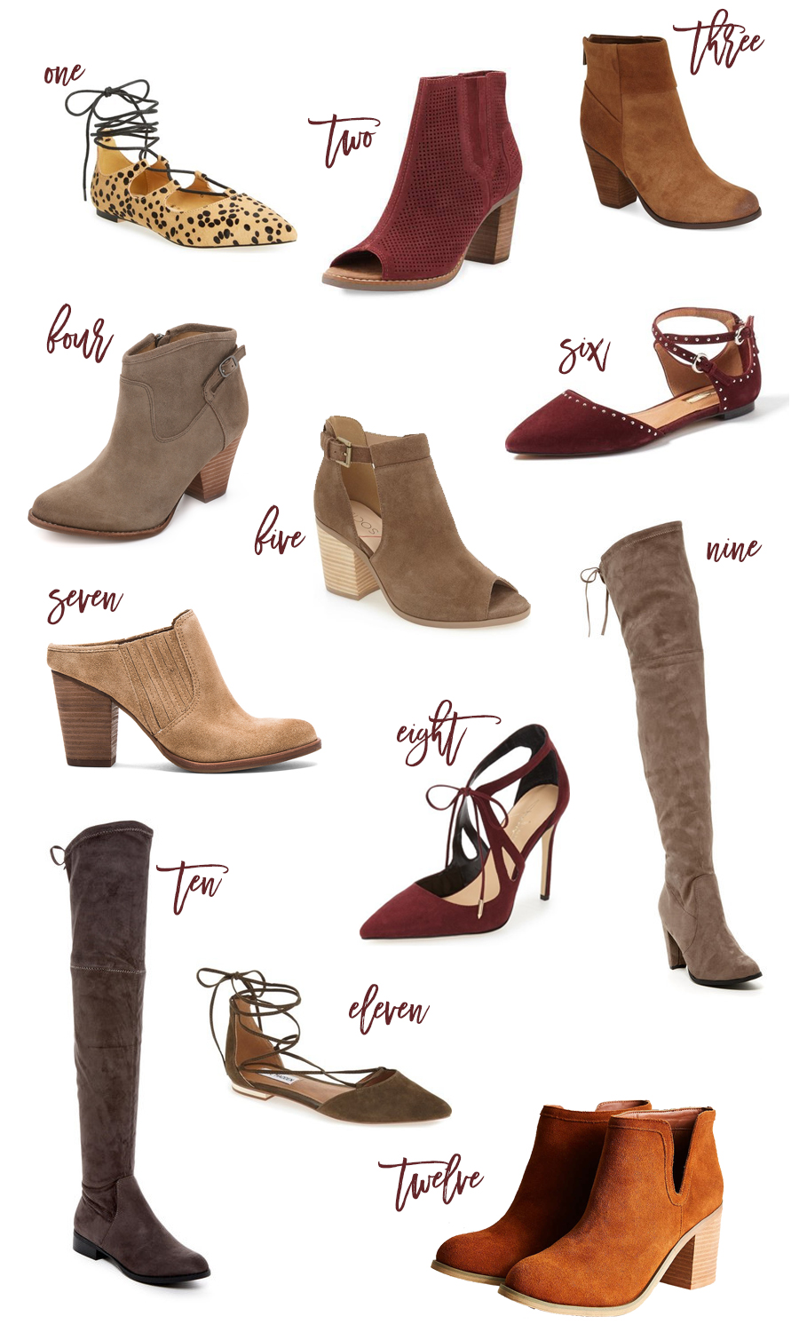 Fall-Favorites-Shoes-Under-$100