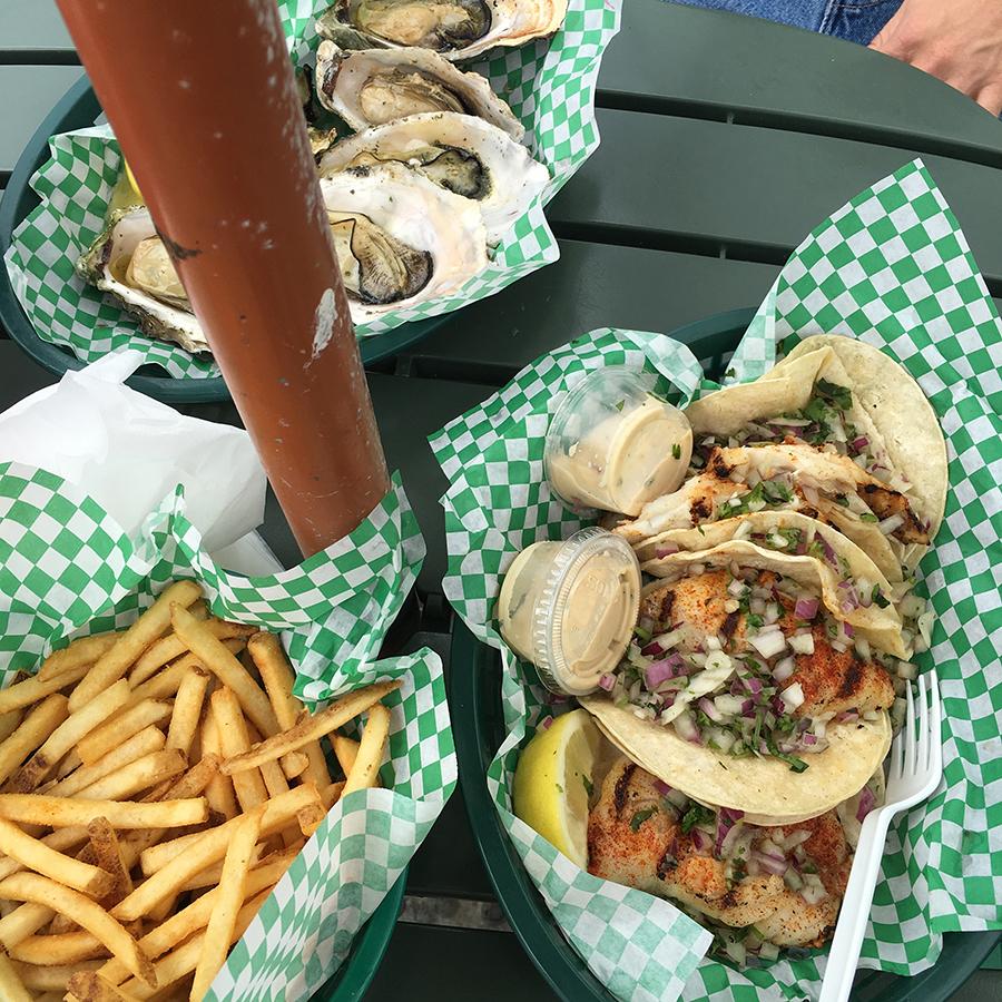 Fish Tacos-Dockside Too