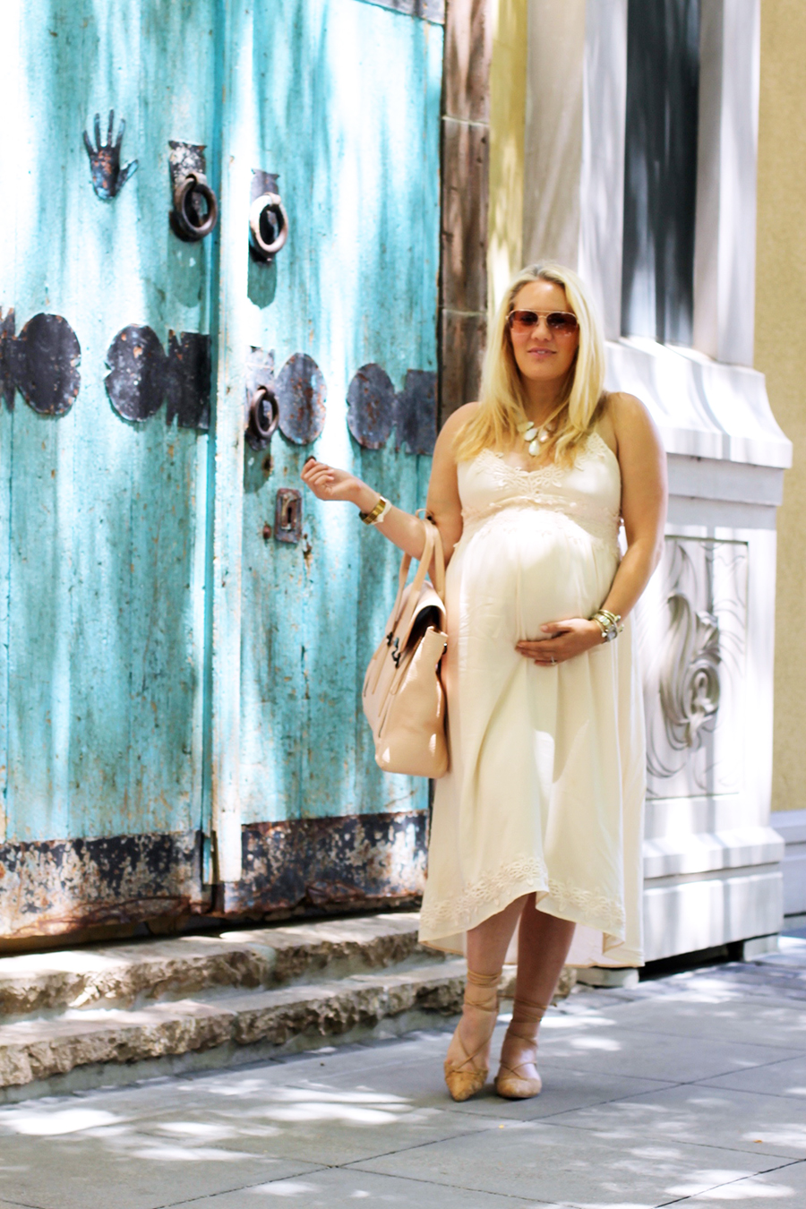 Forever 21 Lace Dress-Maternity Style-Outfit Inspiration-Pregnancy Style-Have Need Want 2