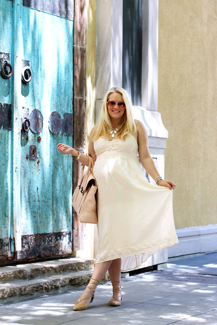 Forever 21 Lace Dress-Maternity Style-Outfit Inspiration-Pregnancy Style-Have Need Want 4