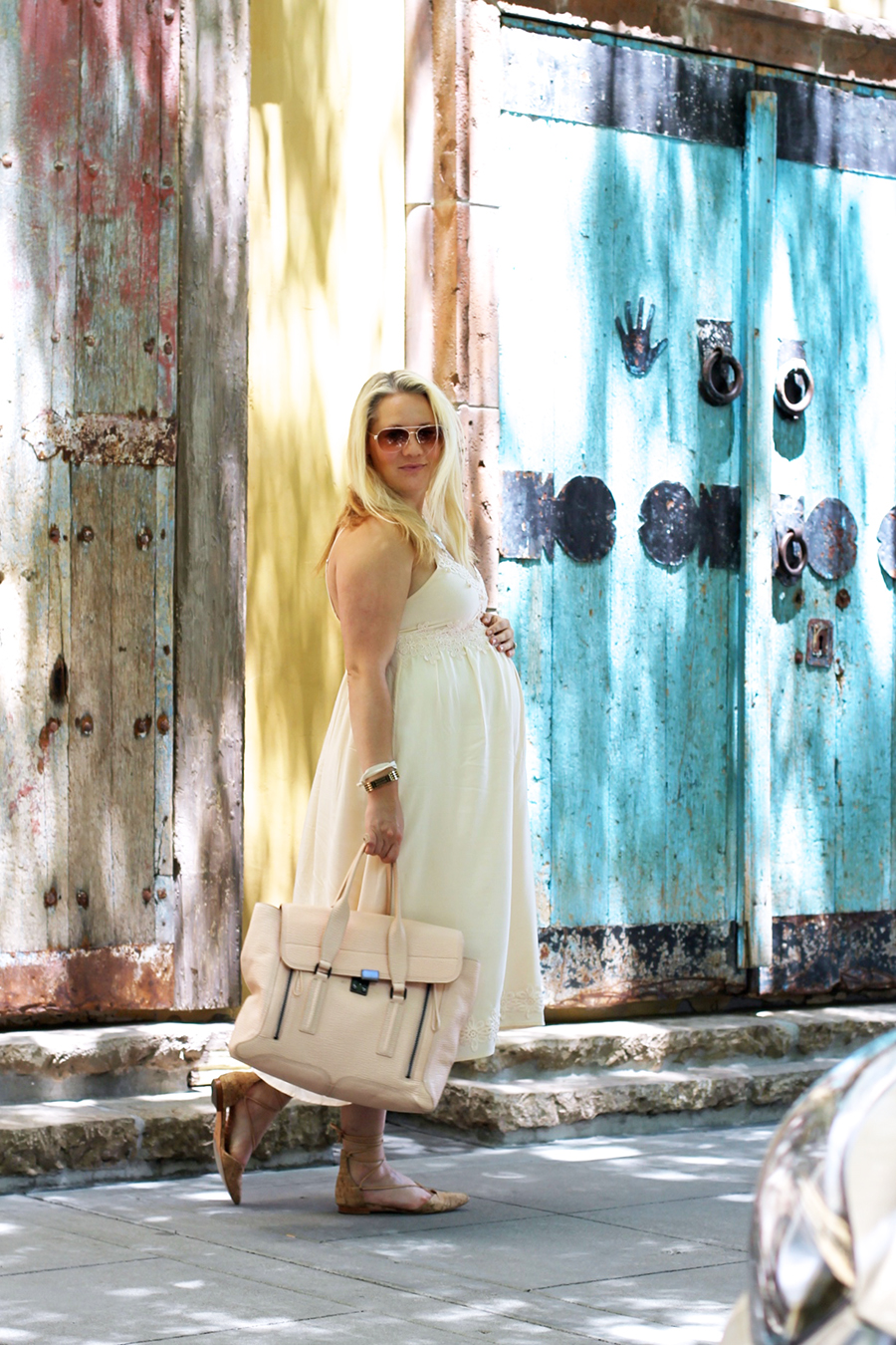Forever 21 Lace Dress-Maternity Style-Outfit Inspiration-Pregnancy Style-Have Need Want 5