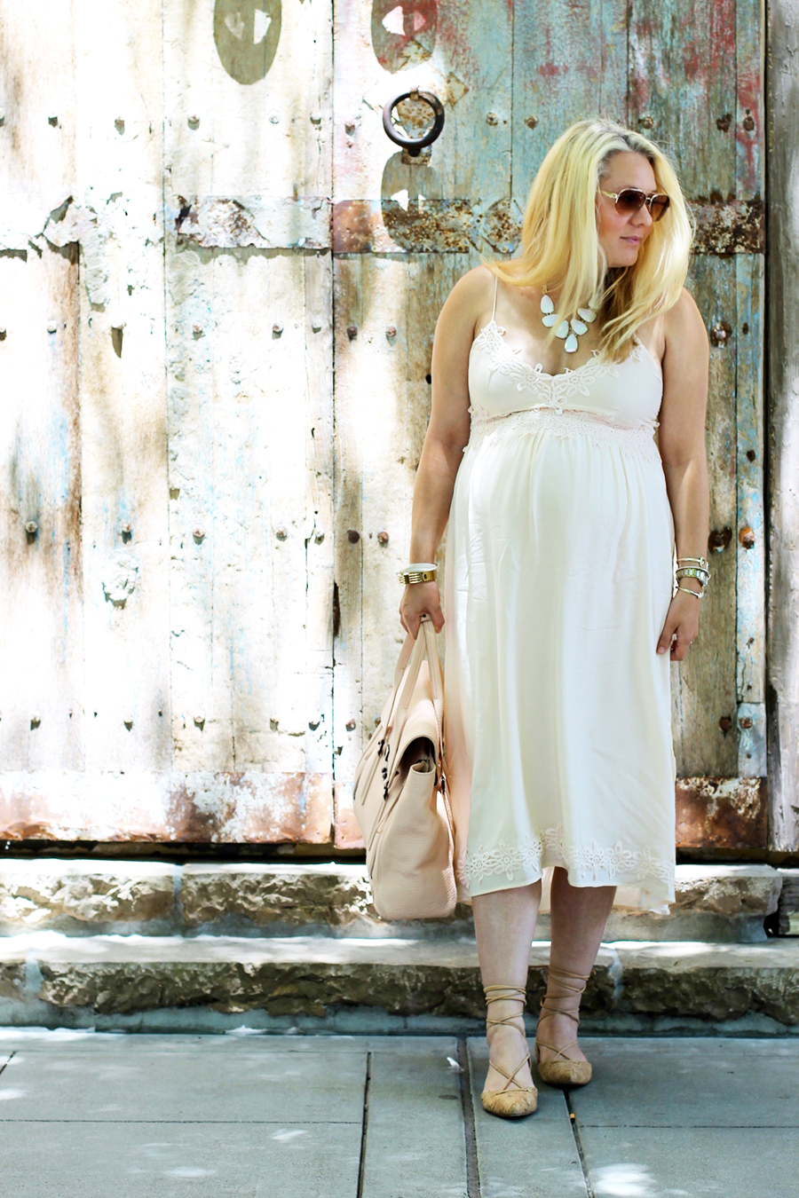 Forever 21 Lace Dress-Maternity Style-Outfit Inspiration-Pregnancy Style-Have Need Want 8