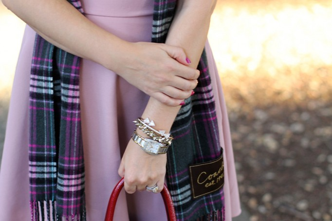 Franco Sarto-Winter Style with ShoeBuy-Tibi dress-Coach-Plaid Scarf-Have Need Want-Outfit Inspiration 2