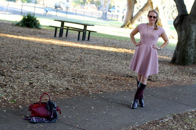 Franco Sarto-Winter Style with ShoeBuy-Tibi dress-Coach-Plaid Scarf-Have Need Want-Outfit Inspiration 6