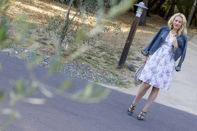From day to night floral dress erin fetherston outfit inspiration fashion blogger 11