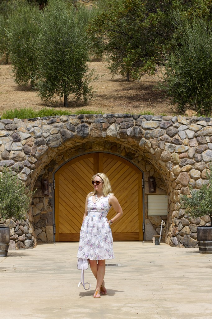 From day to night floral dress erin fetherston outfit inspiration fashion blogger 3