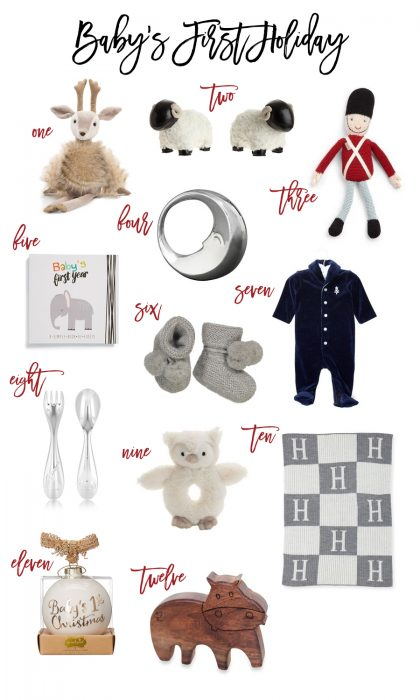 Gift Guide: Baby's First Holiday