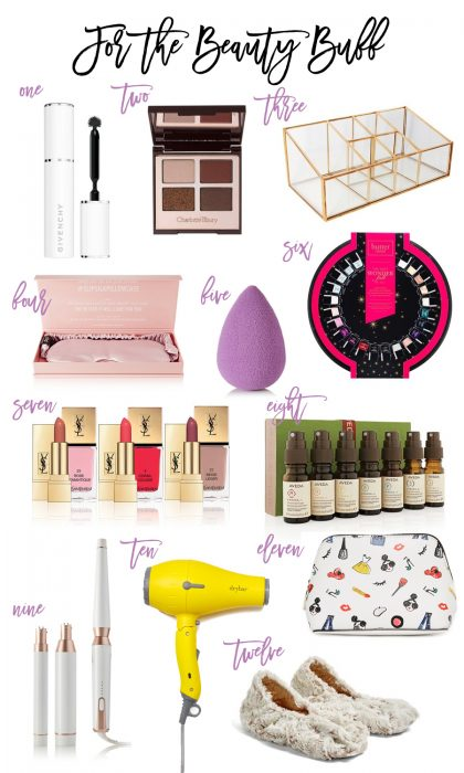 Gift Guide: For the Beauty Buff