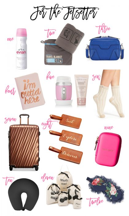 Gift Guide: For the Jetsetter