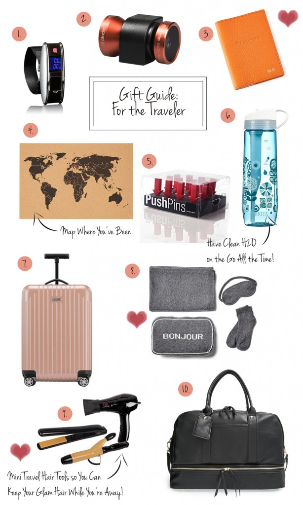 Holiday gift guide gifts for the traveler have need want for Christmas gifts for travelers
