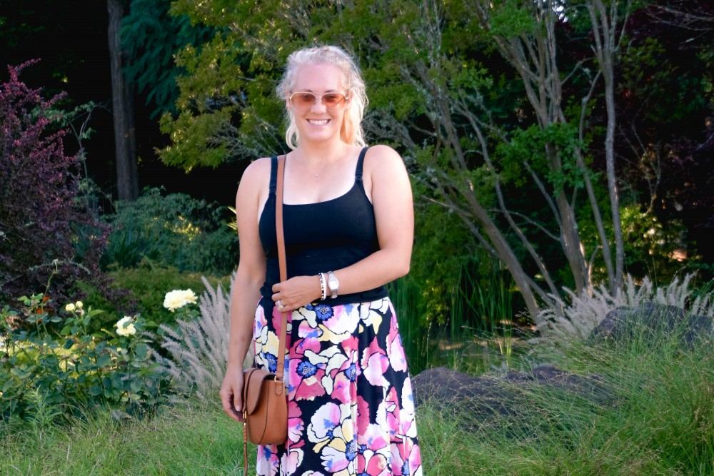 Hot Tropics Floral Maxi Skirt-Free People Floral Maxi Skirt-Outfit Inspiration-Wine Country-Mom Style-Nursing Top-Have Need Want 3
