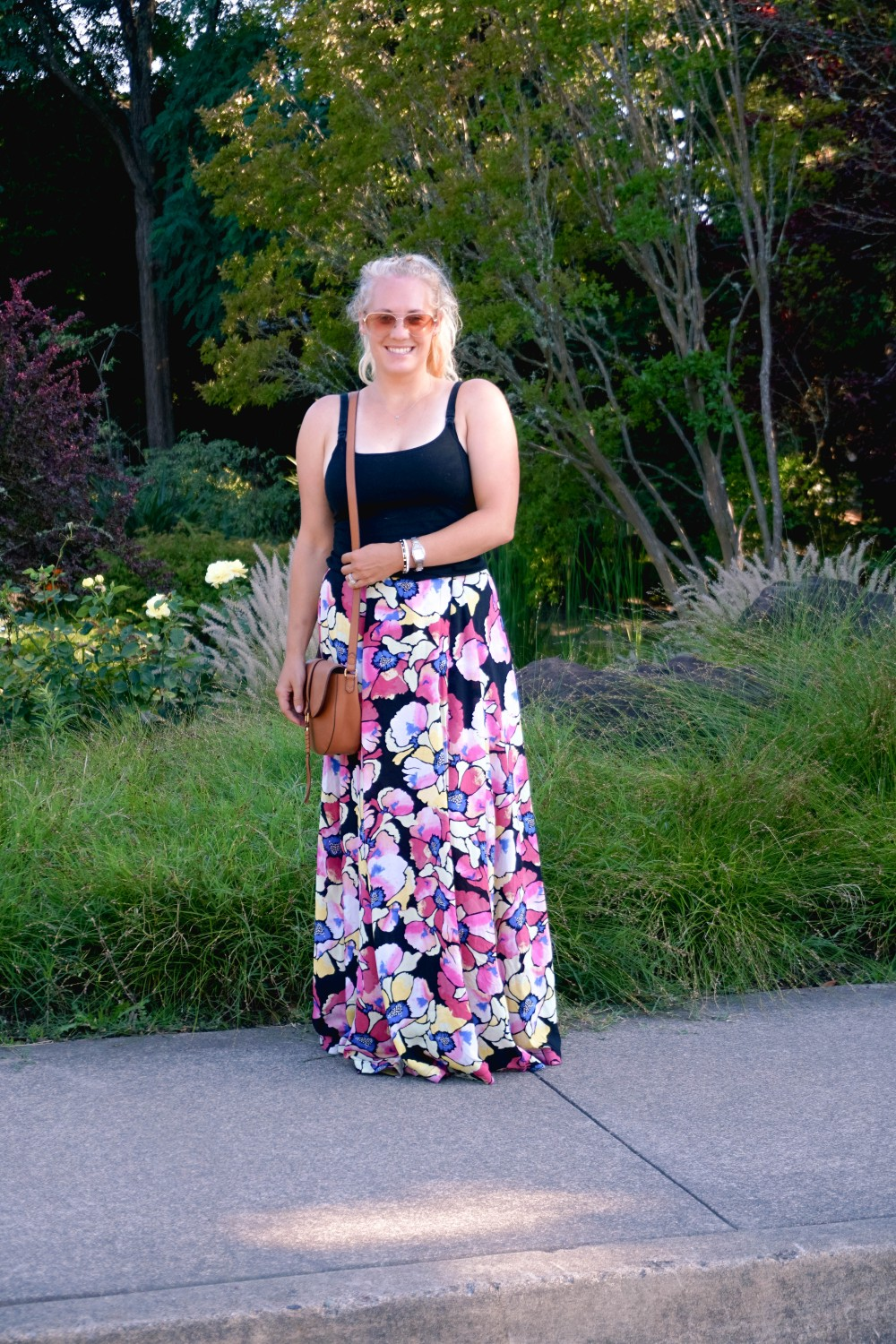 Hot Tropics Floral Maxi Skirt-Free People Floral Maxi Skirt-Outfit Inspiration-Wine Country-Mom Style-Nursing Top-Have Need Want 4