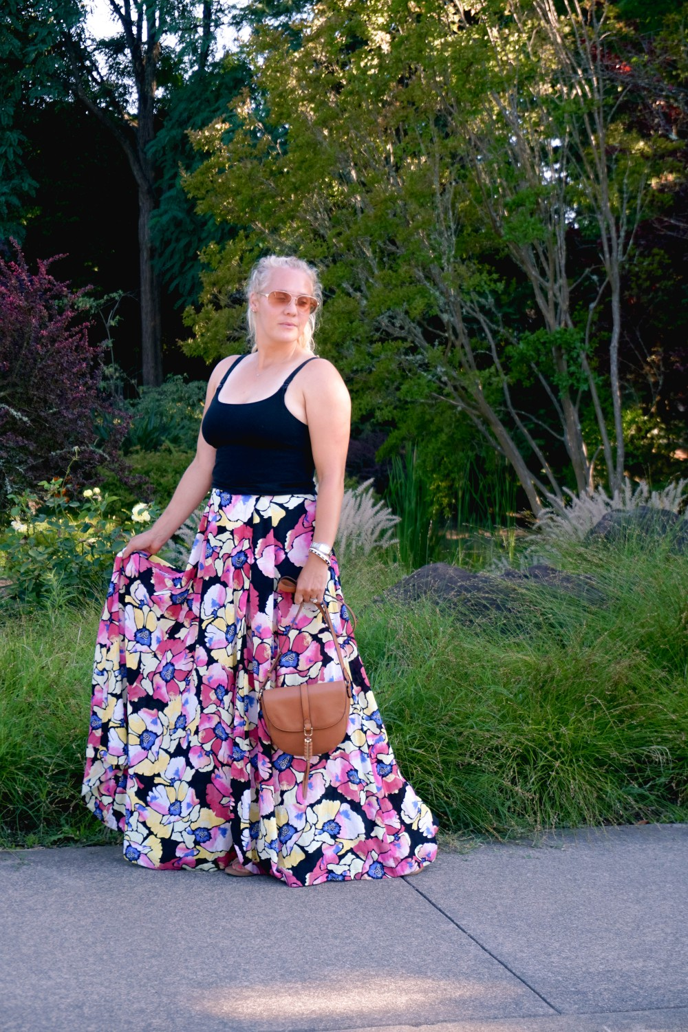 Hot Tropics Floral Maxi Skirt-Free People Floral Maxi Skirt-Outfit Inspiration-Wine Country-Mom Style-Nursing Top-Have Need Want 6